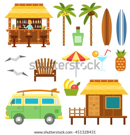 Tiki Hut Stock Images Royalty Free Images Amp Vectors