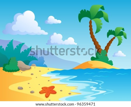 sea bed beach vector - photo #39