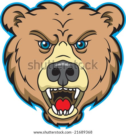 Bear Sports Mascot - stock vector