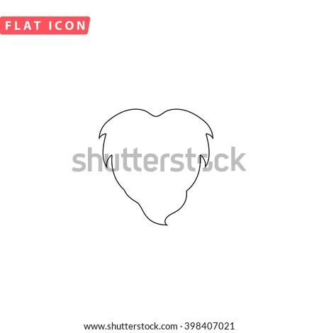 Beard Icon Vector. Beard Icon JPEG. Beard Icon Object. Beard Icon Picture. Beard Icon Image. Beard Icon Graphic. Beard Icon Art. Beard Icon JPG. Beard Icon EPS. Beard Icon AI. Beard Icon Drawing - stock vector