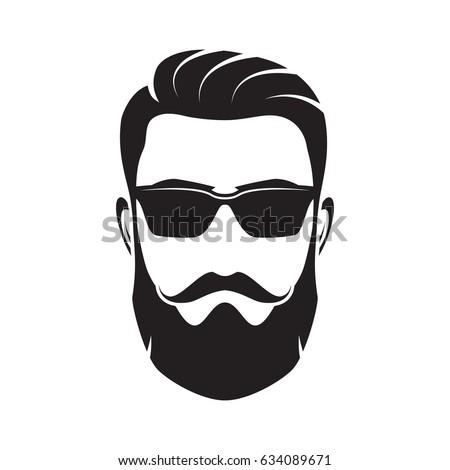 Beard And Glasses Silhouette   www.pixshark.com - Images ...