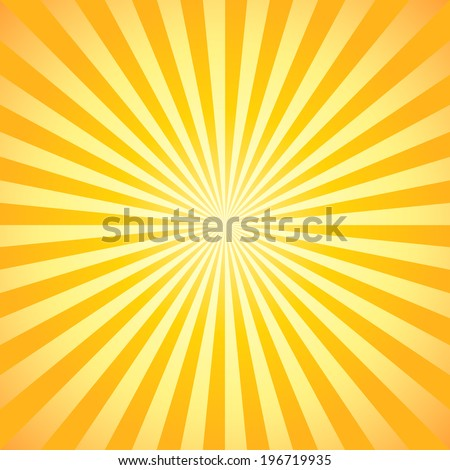 Beautiful abstract starburst background (NO TRANSPARENCY) - stock vector