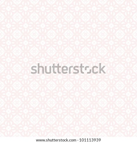 Beautiful background of seamless classic floral pattern - stock vector