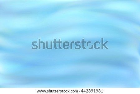 Beautiful blue abstract background of stylized waves