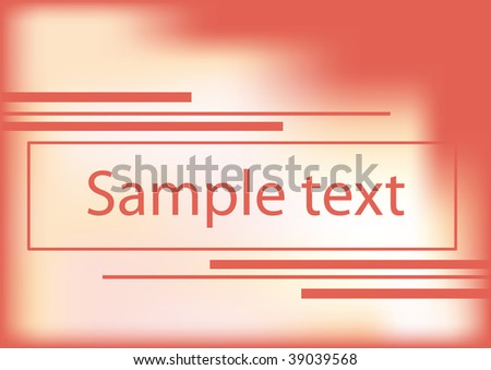 Beautiful bright card. Vector background.