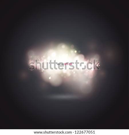 Beautiful brightness background. Vector design. - stock vector