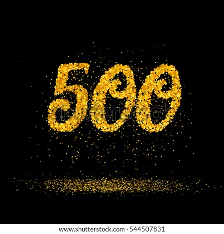 Number 500 Stock Images Royalty Free Images Amp Vectors