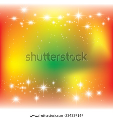 beautiful Christmas background.  - stock vector