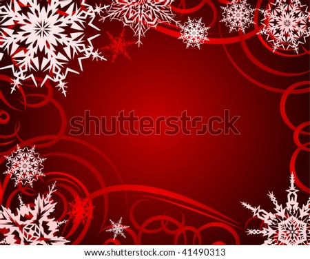 Beautiful Christmas background.