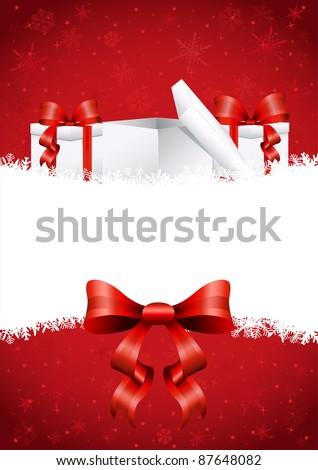 Beautiful christmas decoration illustration - stock vector
