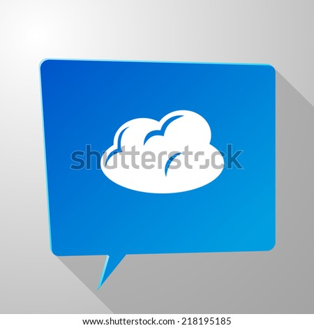 Beautiful Clouds web icon