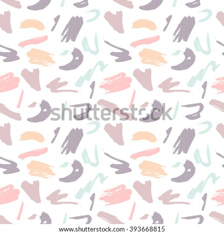 Beautiful colorful abstract pattern on a pastel light background - stock vector