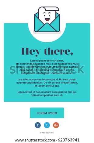 Beautiful colourful emailer template design newsletter stock vector beautiful colourful emailer template design for newsletter and email marketing vector illustration oh email spiritdancerdesigns Image collections