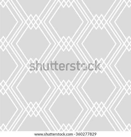 Beautiful geometric pattern ornament. - stock vector