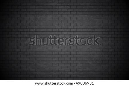 Beautiful grunge bricked wall background. Vector wallpaper. - stock vector