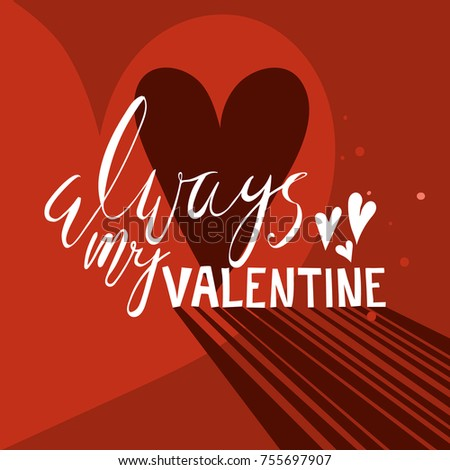 beautiful hand drawn valentines day card stock vector 755697907, Ideas