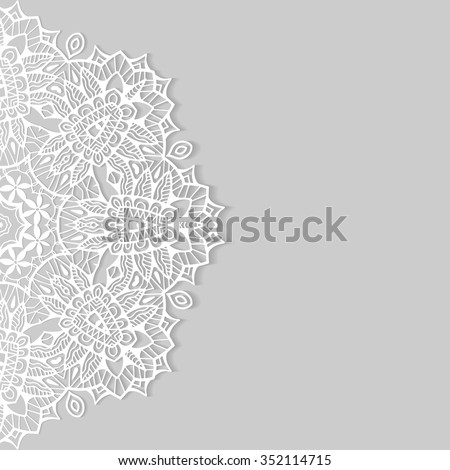 Arabic design stock images royalty free images vectors beautiful lace ornament for cards or invitation mandala round elements tribal ethnic arabic indian stopboris Gallery