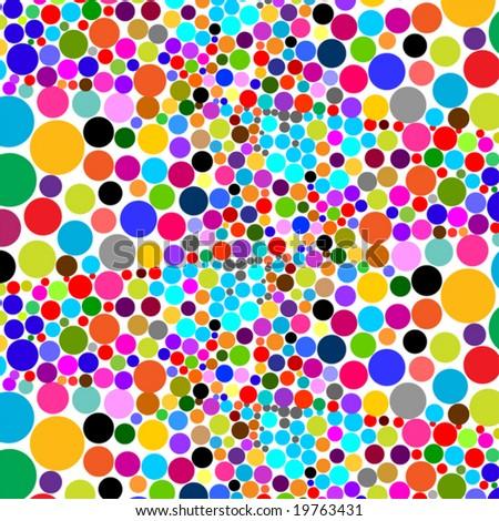 beautiful mosaic background - stock vector