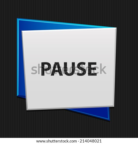 Beautiful Pause web icon