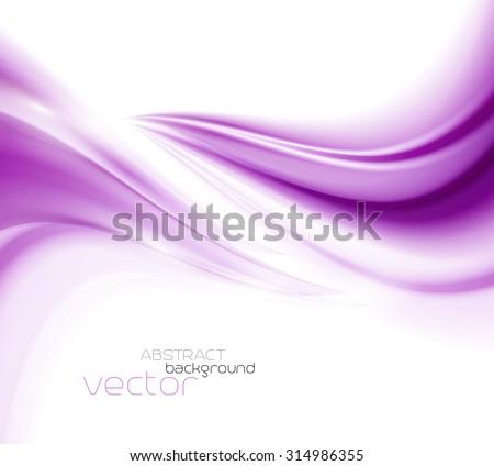Beautiful Purple Satin. Drapery Background, Vector Illustration - stock vector