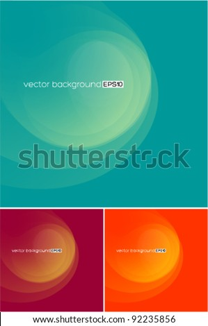 beautiful soft background - stock vector