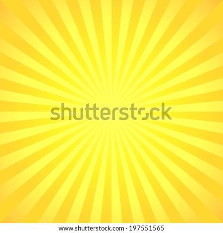 Beautiful summer background design - stock vector