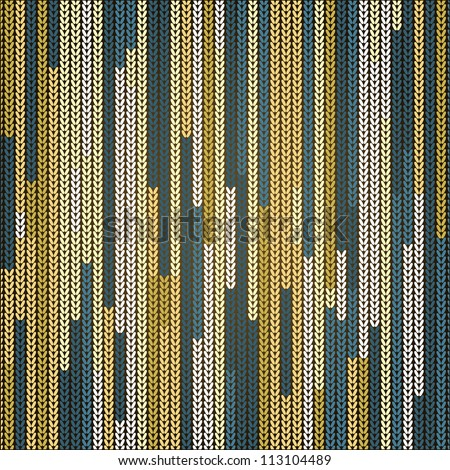 beautiful vector image of fabric texture can use like abstract background - stock vector