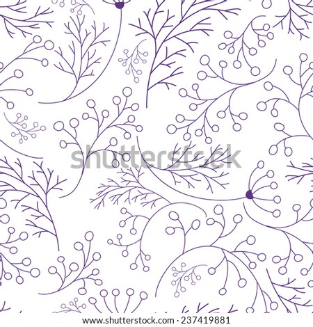 Beautiful Vintage Romantic Vector Seamless Pattern. Can be used for pattern fills, greeting card, website background