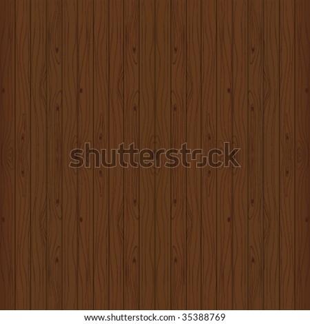 Beautiful wooden background. Vector illustration. - stock vector