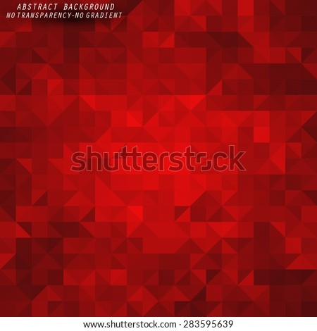 Beauty and Fashion concept abstract geometric background - stock vector