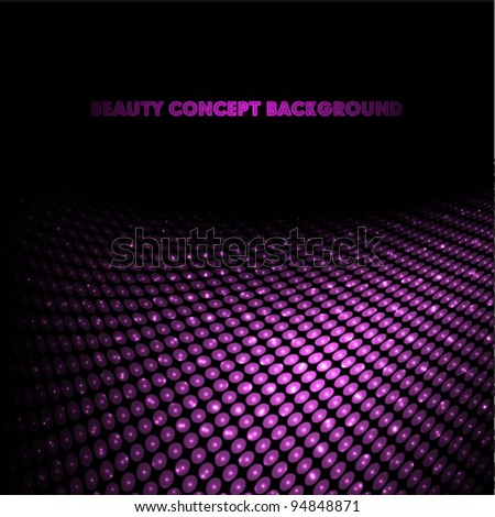 beauty background (ideal for brochure, flyer cover designs or banner, header designs) - stock vector