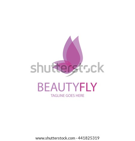 Beauty fly logotype. Butterfly logotype   - stock vector
