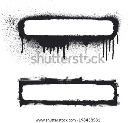 beauty grunge banners - stock vector