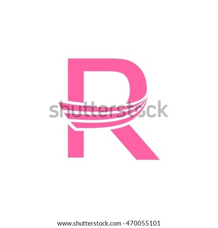 Beauty r letter logo design stock vector hd royalty free 470055101 beauty r letter logo design altavistaventures Image collections