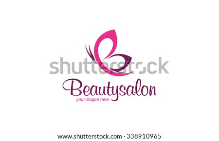 Beauty Salon Logo - stock vector