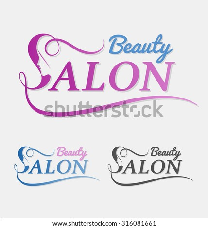 Beauty Salon Logo Design With Female Face In Negative Space On Letter S Suitable For