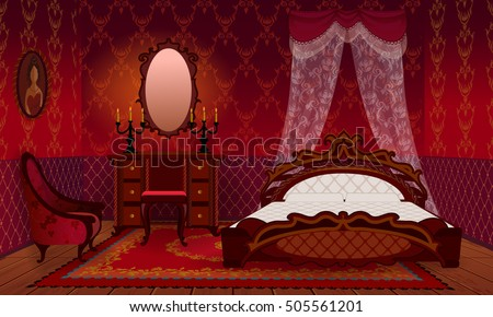 victorian bedroom stock images, royalty-free images & vectors