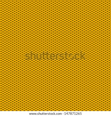 bee hive pattern or background - stock vector