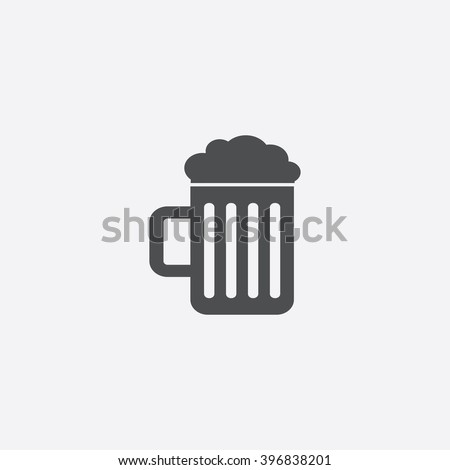 Beer Icon.  - stock vector