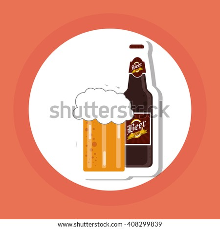Beer icon design , vector illustration