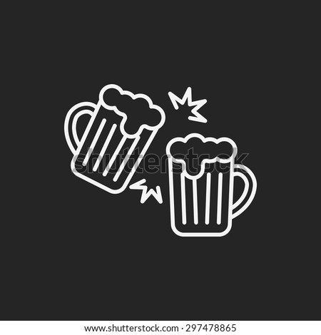 beer line icon