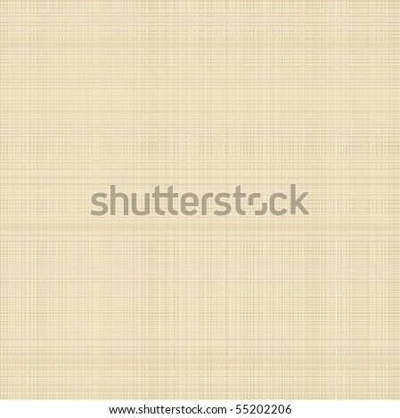 Beige canvas or fabric texture - stock vector