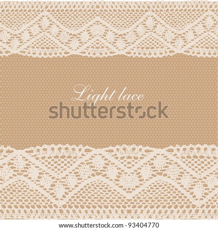 Beige lace background