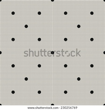 beige  lace seamless texture - stock vector