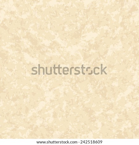 Beige stone background. Marble texture. Vector illustration - stock vector