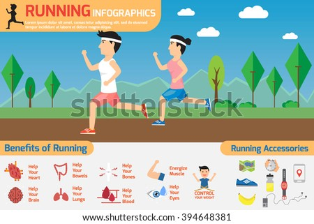 Exercise Sport Health Healthy Food Check Stock Vector ...