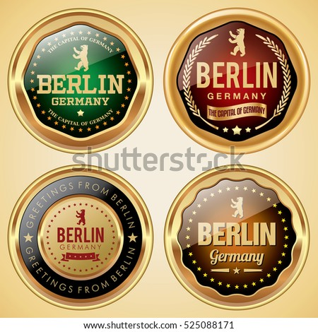 Berlin Germany badges