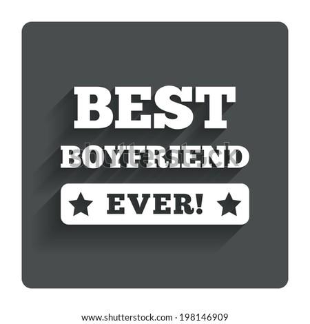 Best Boyfriend Ever Button