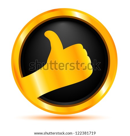 Best choice. Gold badge - stock vector