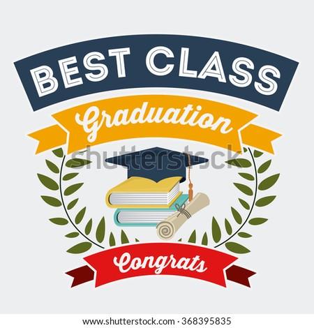 best class design  - stock vector